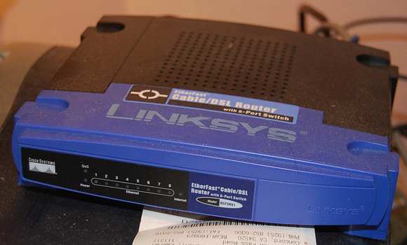 linksys router internet connection box trinket