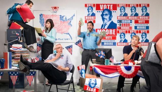 preparing for a political campaign